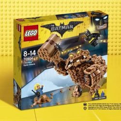 [The Brick Shop] Clayface Splat Attack_LEGO Batman Movie_70904Clayface has crashed Commissioner Gordon's retirement party and is shooting clay all over the