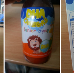 [Nichebabies] Was told by mummies DHA OMEGA3 Junior Syrup 120ml HIGHLY RECOMMENDED by Eye Specialists in Paragon too as kiddos these