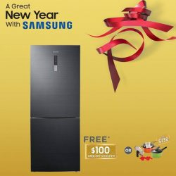 [Samsung Singapore] Celebrate the Lunar New Year with Samsung! Receive up to $200 grocery vouchers or a Happycall Cookware Set worth $238