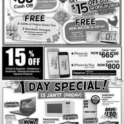 [Best Denki] Our Waterway Point outlet is celebrating their Anniversary Sale! Receive $88 Cash OFF + BEST Vouchers + New Moon 3s Gift Set +