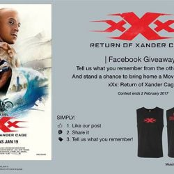 [Filmgarde Cineplex] Have your fill of Vin Diesel yet in his latest movie? What's more? You get a chance to bring