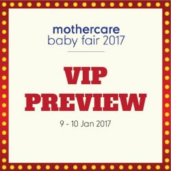 [Mothercare] In case you've missed it, our VIP Preview Sale has started today (till tomorrow). Don't miss the chance