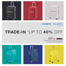 [Samsonite] Samsonite's annual luggage trade-in is back! This time, in support of the global children's charity, Make-A-