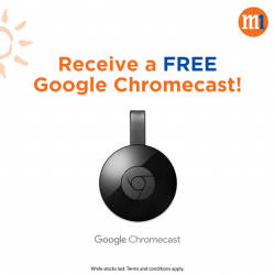 [M1] Sign up for a new Fibre Broadband 1Gbps plan at just $39/mth, and receive a FREE Google Chromecast!Exclusively