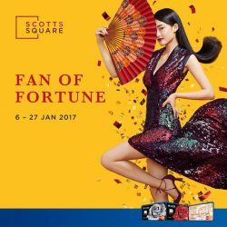 [UOB ATM] Get ready to sass up your outfits this CNY with a shopping spree! Be rewarded with S$30 Paradise Teochew