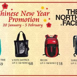 [LIV ACTIV] From now till 5 February, enjoy abundant savings on these The North Face prosperity buys!Receive complimentary Lai See red