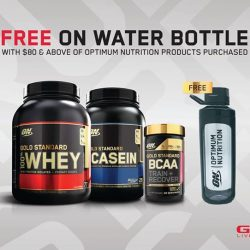 [GNC Live Well Singapore] Receive a FREE ON Water Bottle when you purchase $80 worth of ON products!Shop now at http://bit.ly/