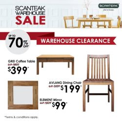 [Scanteak] Missed out on past seasons' items? Fret not! Prototypes and past seasons' items are back for clearance! All must go!