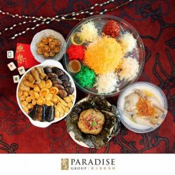[Paradise Group] Tantalise your tastebuds with these festive goodies in our takeaway Abundance Set for $308 (worth $366.40), and receive additional $