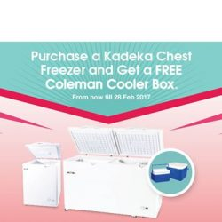 [Courts] With a capacity of up to 923 litres and the ability to reach -18C, the Kadeka Chest Freezer is certainly