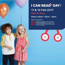 [I Can Read®] QUIZ TIME!In honour of I Can Read Day at our Paya Lebar Centre, we will be sponsoring another one