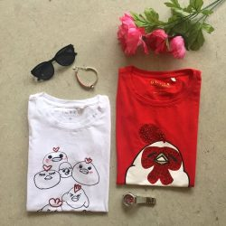 [GUESS Singapore] Have you seen our CNY tees yet? Those are some cute chicks! 😉 Shop with GUESS this Chinese New Year!Chinese
