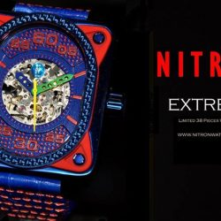 "[TVG] TVG, Where addiction starts.. Bringing forth statement timepieces for the demanding youNitron Extreme to test your limits. ""You Only"
