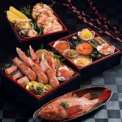 [Hokkaido Fish Market] For Chinese New Year celebration ‼️ 【PREMIUM Seafood Box with Stewed Kinki Rockfish】Welcome the Chinese New Year with BlueTable's