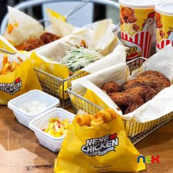 [NEX] Indulge in some Korean fried chicken at the newly-opened NeNe Chicken Singapore (#04-15/16)! Satisfy your fast food
