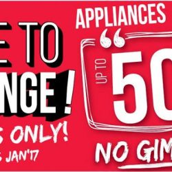 [Best Denki] Time to change your appliances! Get up to 50% OFF! No Gimmick! FREE New Moon Hamper with min. spend of $