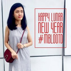 [Miss Bag Lady LLP] Happy Lunar New Year! Tag #mblootd of your #cny outfit and stand a chance to win $20 MBL voucher and