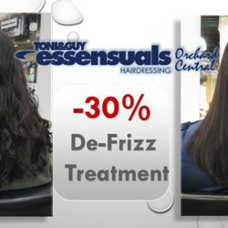 [Essensuals Hairdressing] Being Plagued by Frizzy hair? Looking for smooth and luscious Locks? Check out our Promo : 💕 30% OFF Argan Oil De-