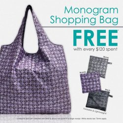 [Bossini Singapore] Get a Monogram Shopping Bag for FREE when you spend $120 while doing your last minute CNY shopping! Terms apply,