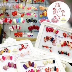 [Princess's Cottage: The Nails Story] Chinese New Year designs done by all Nailartists at The Seletar Mall outlet. (Promotion sets designs belongs to The Seletar