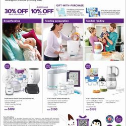 [Isetan] For the best start in life. Join us at our Philips Avent fair for exclusive discount and gift with purchases.