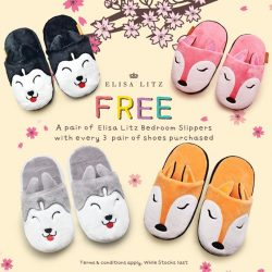 [Elisa Litz] Happy Lunar New Year ~~ Usher in the new year with these super comfy and adorable bedroom slippers with the purchase