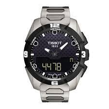 [All Watches] Tissot is the first to present a touch-screen watch powered by solar energy. The rays of light on the
