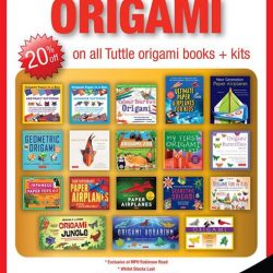 [MPH] Tuttle Origami PromotionExclusive @ Mph Robinson Road 20% Off Books & Kits 15 Jan to 15 Feb 2017