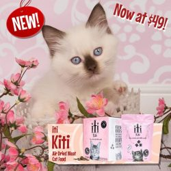 [Pet Lovers Centre Singapore] iTi Kiti cat dry food is now in stock!! Look forward to little pieces of BIG nutrition - courtesy of New