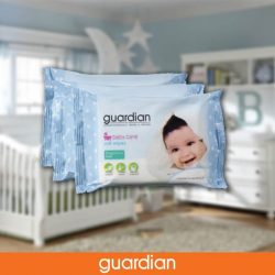 [Guardian] Guardian Baby Care Soft Wipes (Fragrance Free) is free from alcohol & parabens and enriched with aloe vera extract & vitamin E.