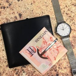 [Kapok Tools] unbulk your pockets and keep your #wallet flat with the #miansai money clip, available in kapok at tang plaza. . . . . . #kapoksg #