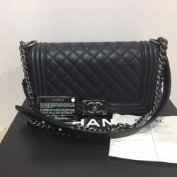 d2e9d19ff5c3  MADAM MILAN  Sneak Preview  FE Brand Model  Chanel A67086 Le Boy Medium  Flap Bag Price   5350 (RP  6210) Item Code  FE9016C FE24RP