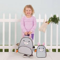 [Mothercare] Whimsical details and durable materials make this the perfect pack for on-the-go! The front pouch is ideal for
