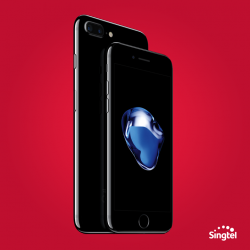 [Singtel] The amazing iPhone 7 and iPhone 7 Plus are now available online with free delivery on Singtel's Combo Mobile