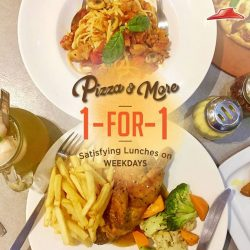 [Pizza Hut Singapore] So many yummy favourites like Hawaiian pizza and Roasted Half Spring Chicken to indulge in! Now its even more delicious