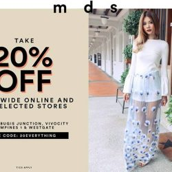 [MDSCollections] Everything on SALE! Take 20% off everything, online and in selected stores. Use code: 20EVERYTHINGShop the promo via the