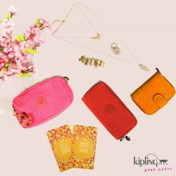 [Kipling] Have lady luck by your side this Lunar New Year with our vibrant collection of accessories AND amazing discounts! 😁 From