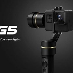 [Outdoor Sports Travel] The long-awaited G5 3-axis handheld gimbal from Feiyu Tech is here at OST! Splash-proof built all over,