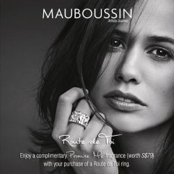 [Mauboussin] To celebrate the New Year, Mauboussin offers you a complimentary Promise Me fragrance (worth S$79) with your purchase of