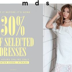 [MDSCollections] Get it before it's gone! 30% off selected dresses 24hours, online only. Use code [XTRA30]Shop the promo via