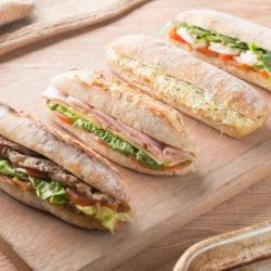 [Artisan Boulangerie Co.] No time for lunch? Grab a quick sandwich from ABC. Made with fresh baked bread and stuffed with premium ingredients