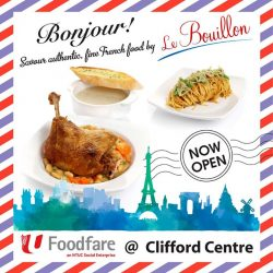 [Foodfare] Food court dining just got more interesting!With more than 10 years of F&B experience in French fine dining