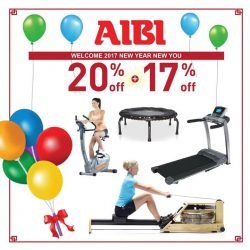 [AIBI] Happy New Year 2017! Start the New Year with packages at 20%+ 17% offers. Great value for health, beauty and