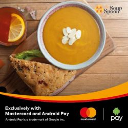 [The Soup Spoon] 1-for-1 Soup Sets with Android Pay | For a limited time period only, get your 2nd soup set free