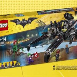 [The Brick Shop] The Scuttler_LEGO Batman Movie_70908Emergency! The Joker and Poison Ivy with her vine monster have crashed Commissioner Gordon's retirement
