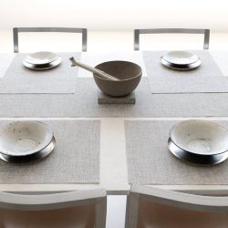 [Chilewich] No tablecloth necessary. Pick up some new  essentials for the table at our seasonal sale. Shop the sale: https://goo.