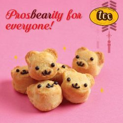 [TCC - The Connoisseur Concerto] Stock up on New Year goodies with our adorable bear-shaped pineapple tarts guaranteed to be a hit amongst family &