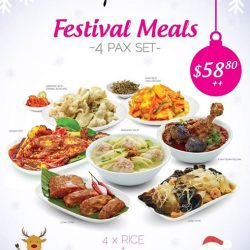 [O'NYA SAYANG] Due to overwhelming response, we have decided to EXTEND our Festival Meals promotion till Chinese New Year.
