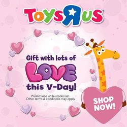 [Babies'R'Us] Give the Gift of Lots of Love this Valentine's Day! Shower your loved ones with sweet surprises found only @