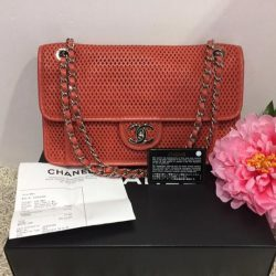 [MADAM MILAN] Sneak Preview @FE Brand/Model:🍊🍊Chanel A67652 Up In The Air Perforated Flap Bag Price: $2950 (RP:$4180) Item Code: